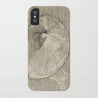 seashell iPhone & iPod Cases featuring SEASHELL by Mary Szulc