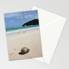 The Coconut Nut is a Giant Nut - beach view Stationery Cards