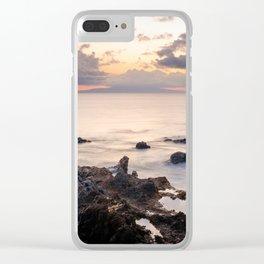 Wailea- Makena, Hawaii Clear iPhone Case