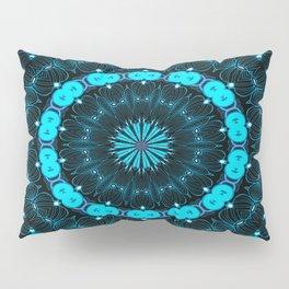 Folklore Cabin (blue) Pillow Sham