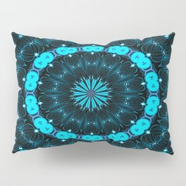 Folklore Cabin (blue) Pillow Sham