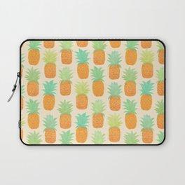 Watercolor Pineapples Laptop Sleeve