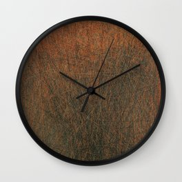 Screaming Lines Wall Clock
