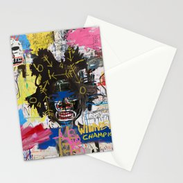 Portrait of Basquiat Stationery Cards