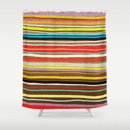 I had some strange colour lines Shower Curtain