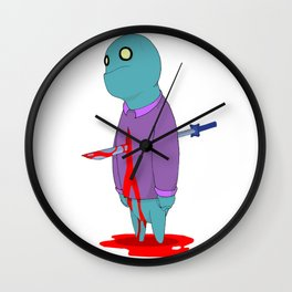 Insensitive Die Wall Clock