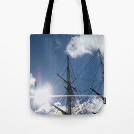 Salem Wooden ship Tote Bag