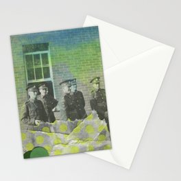 Fluo Police Stationery Cards