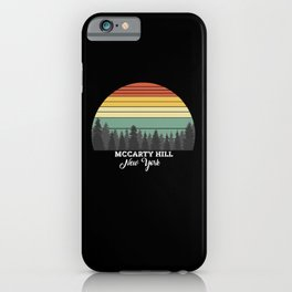 McCarty Hill New York iPhone Case