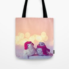 Happy Holidays, Christmas and Winter Photography Tote Bag