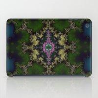 hexagon iPad Cases featuring Fractal Hexagon by Harvey Warwick