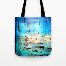 Blowing Dots (2) Tote Bag
