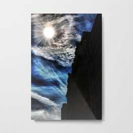 Ice Fire In The City Metal Print