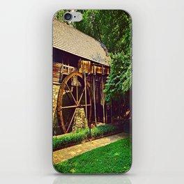 Gristmill - Charlottesville, Virginia iPhone Skin