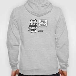 the wise cat - action Hoody