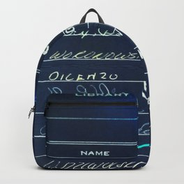 Library Card 23322 Negative Backpack
