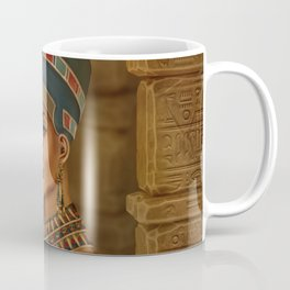 Nefertiti - Neferneferuaten the Egyptian Queen Coffee Mug