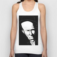 tom waits Tank Tops featuring Tom Waits by Mr Shins