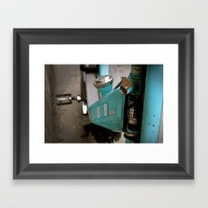 mechanics Framed Art Print