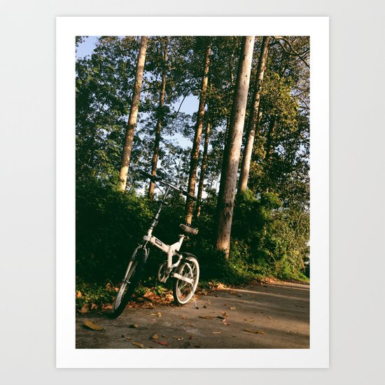 Trail Bike Art Print