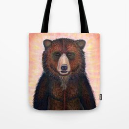 Blissed Out Bear Tote Bag