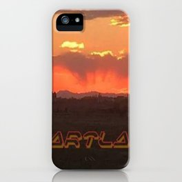Heartland Sunset iPhone Case