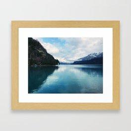 Interlaken, Switzerland Framed Art Print