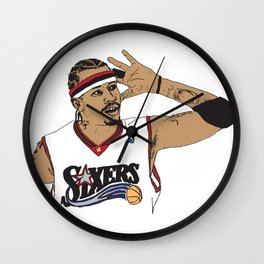 Iverson The Answer Wall Clock