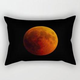 Moon eclipse 2018 Rectangular Pillow