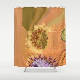 Perambulations Feel Flowers  ID:16165-100731-65461 Shower Curtain