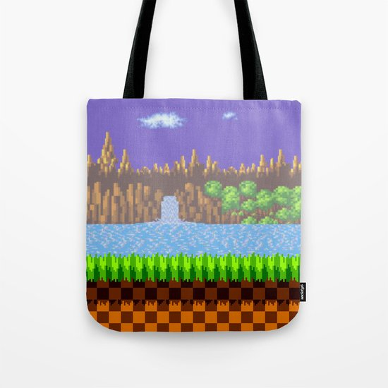 Green Hill Tote Bag