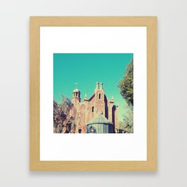 Mansion Architecture Closeup 1 Framed Art Print