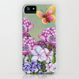 Fanciful Garden iPhone Case