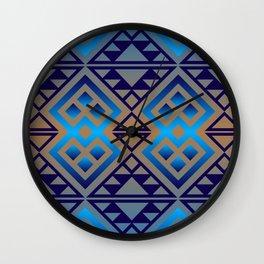 The Lodge (Blue) Wall Clock