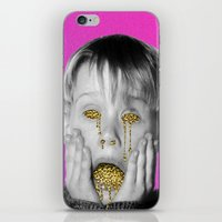 kevin russ iPhone & iPod Skins featuring Kevin by Douglas Hale