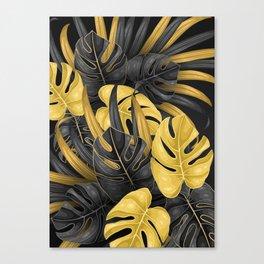 Tropical Gold Canvas Print