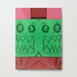 Green Grills Metal Print