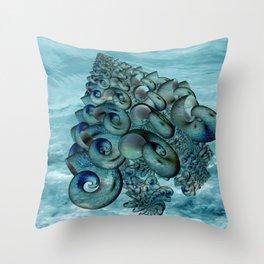 strange forms -2- Throw Pillow