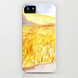 Mountain Field iPhone Case