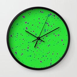 Abstract organic pattern III Wall Clock