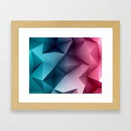 Polymetric Ocean Floor Framed Art Print