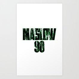 Maslow Jersey Art Print