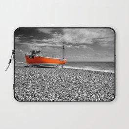 Orange Boat Laptop Sleeve