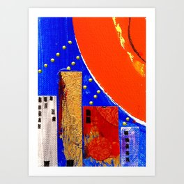 Hot City Art Print