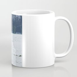 Lets play - Dogs in the snow Coffee Mug