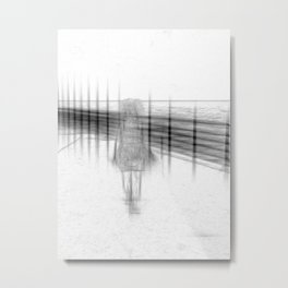 UNTILTLED Metal Print