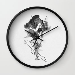 Infinity's edge of happiness. Wall Clock