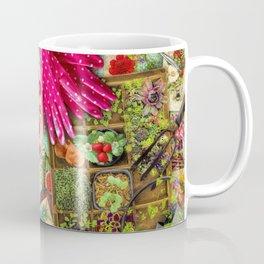 A Vintage Garden Coffee Mug
