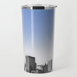 Blue Sky Chicago Travel Mug