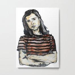 Sketch of The Neighbourhood's Zach Abels Metal Print